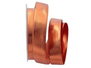 Weihnachtsband Scintillante bronze 25mm ohne Draht