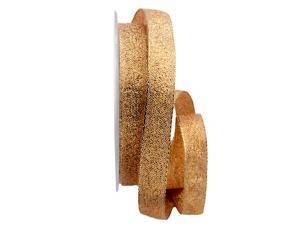 Goldband Sollievo gold / rot 15mm ohne Draht