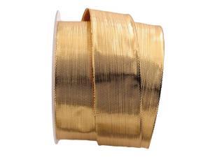 Goldband Semplicità gold 40mm mit Draht