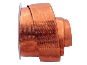 Weihnachtsband Scintillante bronze 40mm ohne Draht