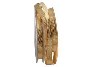 Goldband nastro di broccato 10mm ohne Draht