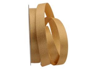 Satinband BASIC GOLD 15mm ohne Draht