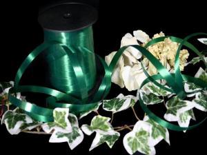 Polyband Dunkelgrün ohne Draht 10mm