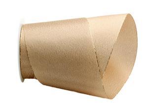 Weihnachtsband Brokatband gold 100mm ohne Draht - im Bänder Großhandel günstig kaufen!
