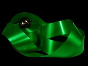 Polyband grün ohne Draht 49mm