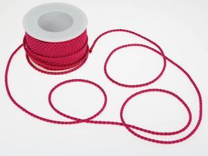 Kordel Pink ohne Draht 4mm