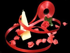Polyband Rot ohne Draht 19mm