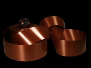 Polyband Braun ohne Draht 49mm