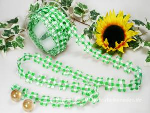 Karoblume Grün ohne Draht 22mm