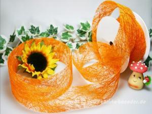 Sisal Orange ohne Draht ca. 60mm