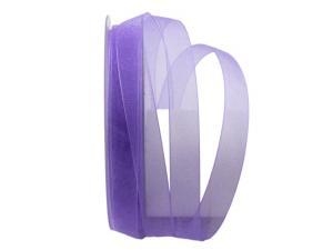 Organzaband Luminoso flieder 15mm ohne Draht - Geschenkband günstig online kaufen!