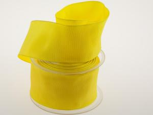 Uniband gelb 60 mm mit Draht