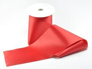 Tischband Rotterdam rot ohne Draht 100mm