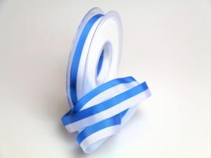 Uni Nationalband Bayern blau weiß ohne Draht 15mm