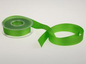 Uniband Ripsband Hellgrün ohne Draht 25mm