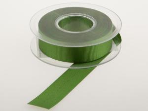Uniband Ripsband jagdgrün 25mm ohne Draht