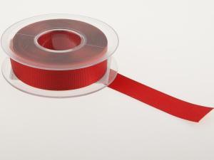 Uniband Ripsband kaminrot 25mm ohne Draht