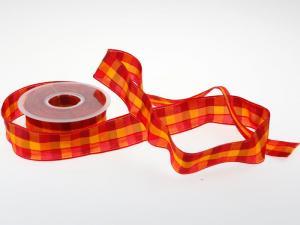 Karoband Rustiko Orange 40mm mit Draht