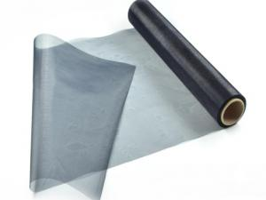 Tischband Organzaband 280mm Schwarz ohne Draht - Geschenkband günstig online kaufen!