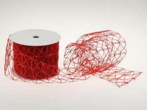 Schlingengitter Rot 90mm mit Draht