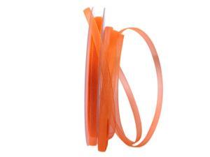 Organzaband Luminoso orange 6mm ohne Draht