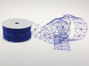 Schlingengitter Blau 60mm mit Draht