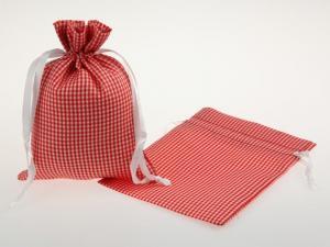 Dekosäckchen 12,5x17,5cm 10 Stück rot