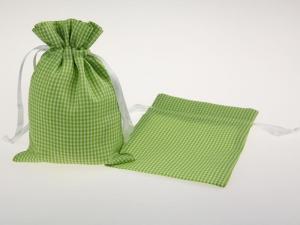 Dekosäckchen 12,5x17,5cm 10 Stück hellgrün