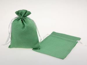 Dekosäckchen 12,5x17,5cm 10 Stück grün