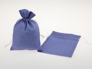 Dekosäckchen 12,5x17,5cm 10 Stück blau