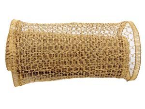 Gitterband Hexe gold 240mm mit Draht