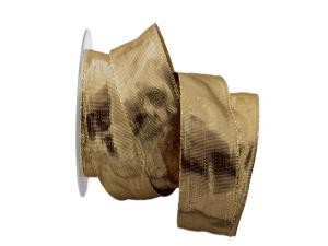 Goldband Carino gold 40mm mit Draht