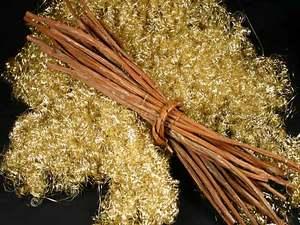 Engelshaar Gold ohne Draht 200 Gramm