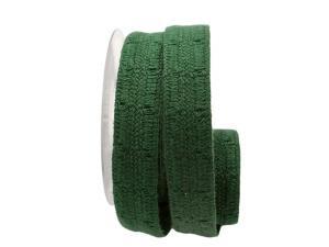 Dekoband Spitze grün ca. 30mm ohne Draht