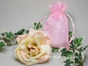 Organzasäckchen 10 x 15cm Rosa 10 Stück