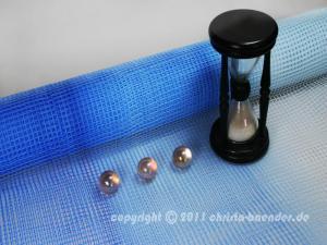 Gitterband Tischgitter Blau ohne Draht 500mm - im Bänder Großhandel günstig kaufen!