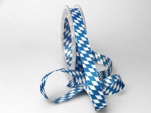 """Bayernraute"" ohne Draht, 15mm Blau/Weiß"