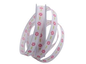 Blumenband Florete roa 15mm mit Draht