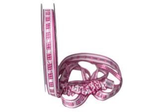 Dekoband Friends pink 15mm ohne Draht