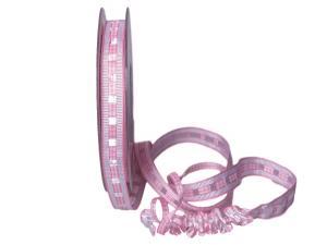 Dekoband Friends rosa 15mm ohne Draht
