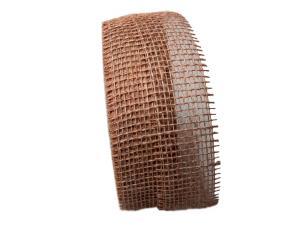 Dekoband Jute bronze 40mm ohne Draht