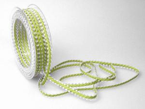 Dekoband Minna 7mm hellgrün ohne Draht - Dekoband günstig online kaufen!