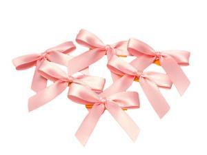 Fertigschleife 2-Flügel Rosa 15mm 25 Stück - im Bänder Großhandel günstig kaufen!