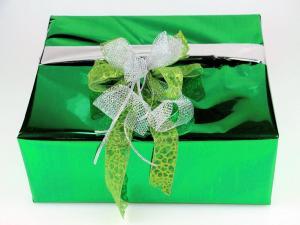Geschenkfolien-Set  grün