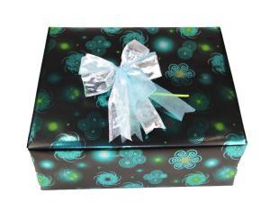 Geschenkpapier-Set Circle türkis - Geschenkband günstig online kaufen!