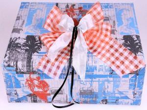Geschenkpapier-Set Future rot - Geschenkband günstig online kaufen!