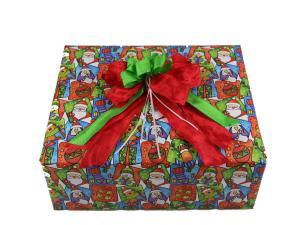 Geschenkpapier-Set kindliche Weihnachten - Geschenkband günstig online kaufen!