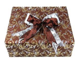 Geschenkpapier-Set Orient braun - Geschenkband günstig online kaufen!