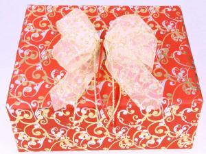 Geschenkpapier-Set Orient rot