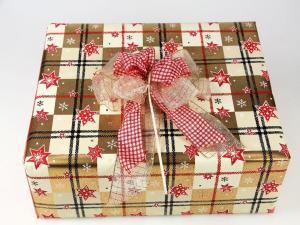 Geschenkpapier-Set Sterne gold